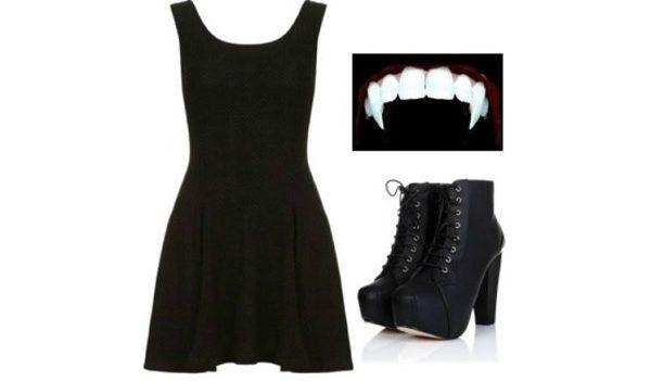 Préférence Costume Halloween Vampira fai da te | Idee Halloween VM31