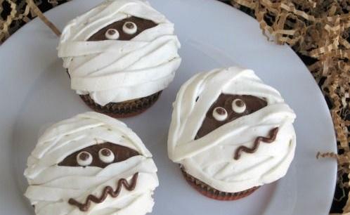mummie cupcake cioccolato
