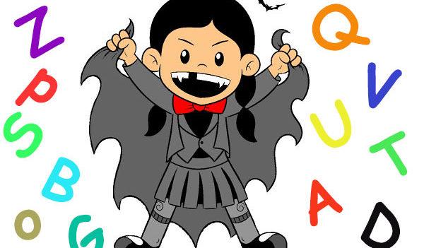 alfabeto del vampiro